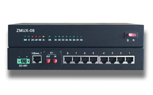 ZMUX-08E桌面型PCM设备