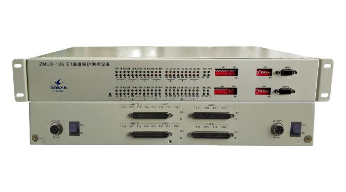 16进8出 E1保护倒换设备_ZMUX-128