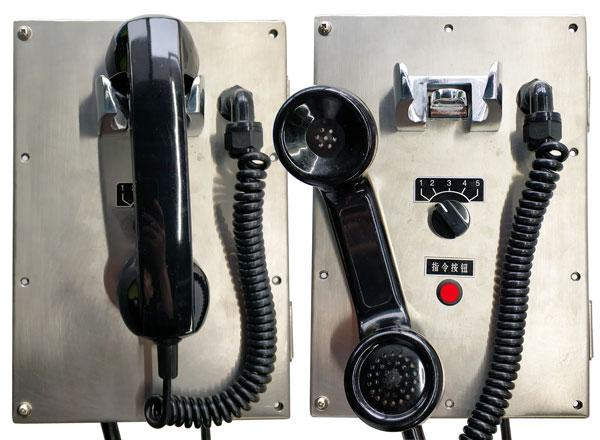 为客户定制一批光端机和防爆电话